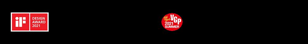 iF DESIGN AWARD 2021 受賞、オーディオビジュアルアワード2021受賞