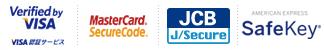 Verified by VISA VISA認証サービス・MasterCard® SecureCode™・JCB J/Secure™